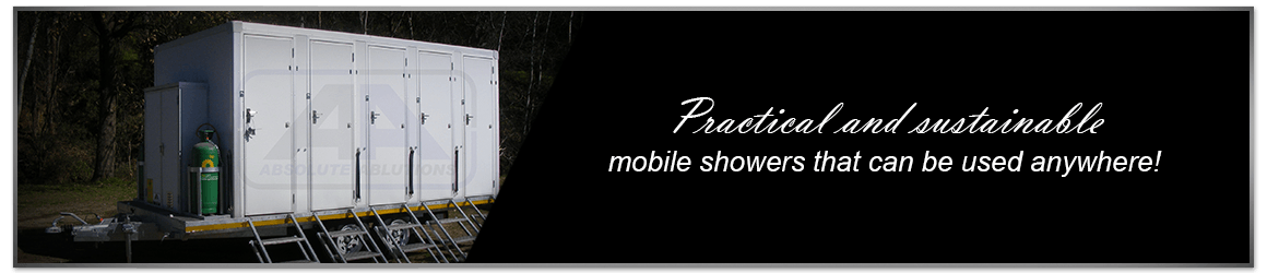 Absolute Ablutions manufactures and supplies superior mobile showers