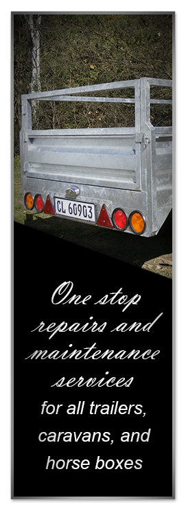 one-stop repairs and maintenance workshop for all trailer, caravan and horse-box owners, at highly competitive rates banner image for mobile