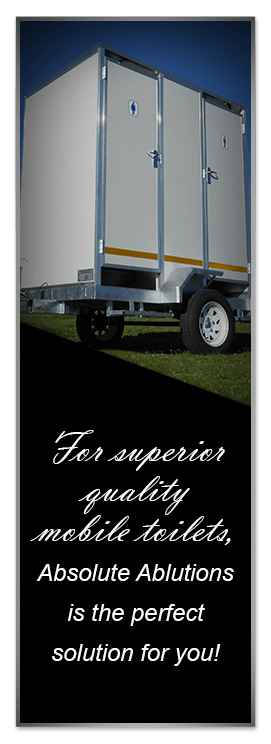 Mobile toilets to suit any need and budget banner